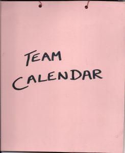 1985 Team South Africa Calendar Rsm 82 Graduating Year